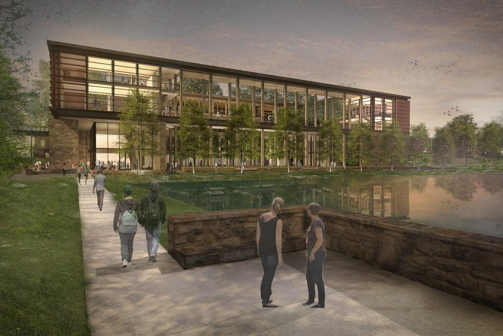 The Contemplative Commons building will be located on Emmet Street, near the Dell and McCormick Road residence halls.