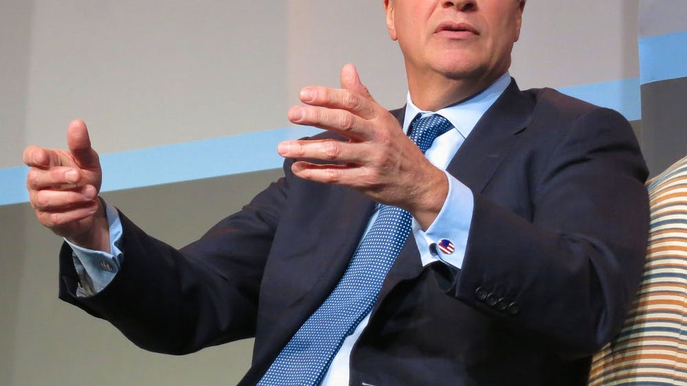 "CEO of JPMorgan Chase Jamie Dimon believes Warren is ""vilifying successful people."""