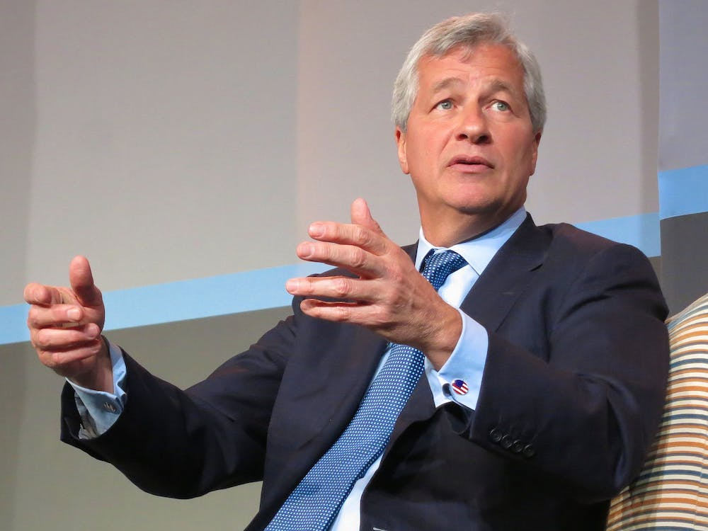 "CEO of JPMorgan Chase Jamie Dimon believes Warren is ""vilifying successful people."""