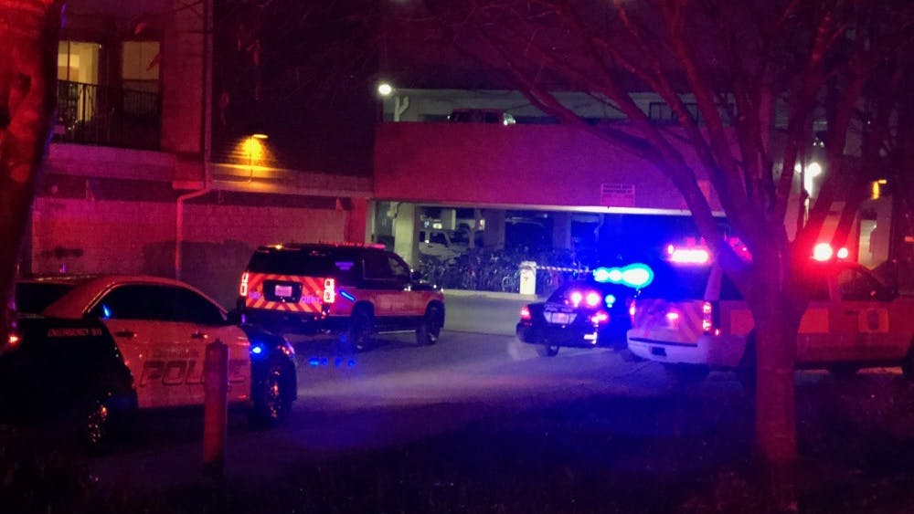 One person was injured near 15th Street NW Saturday night.