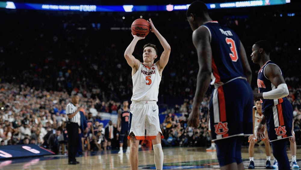 Junior guard Kyle Guy sank three free throws to send the Cavaliers to the National Championship.