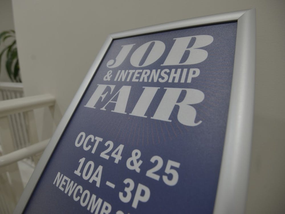 The Fall Job and Internship Fair was held Wednesday and Thursday in Newcomb Hall.