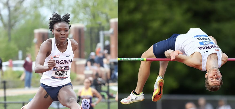 <p>Knight and Foster both won their respective ACC titles with performances on the third day of the meet — performances that broke their own school records.&nbsp;</p>