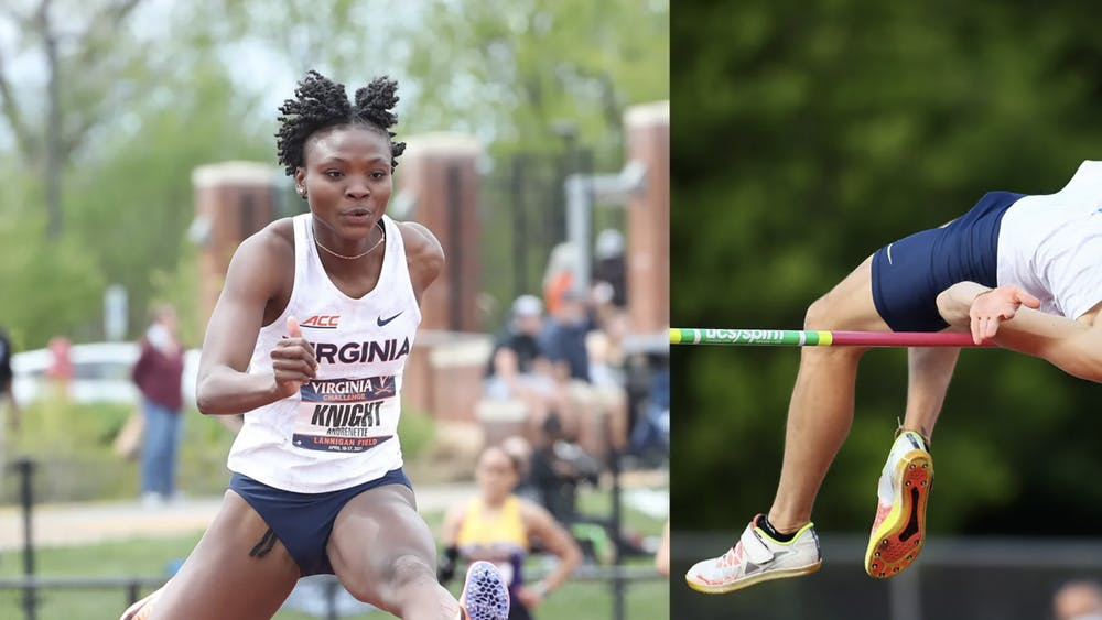 Knight and Foster both won their respective ACC titles with performances on the third day of the meet — performances that broke their own school records.