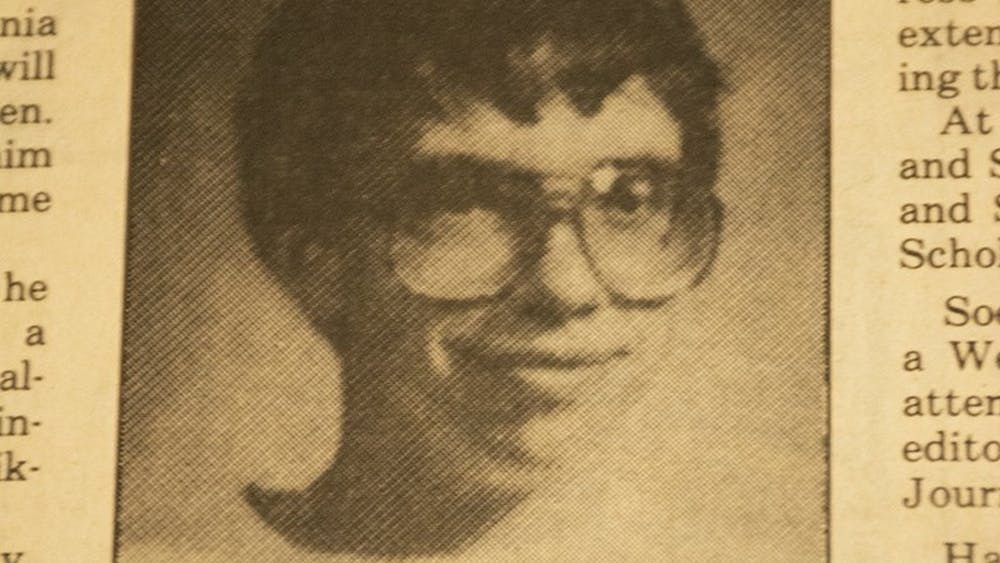 Jens Soering, as pictured in a 1986 article in The Cavalier Daily.
