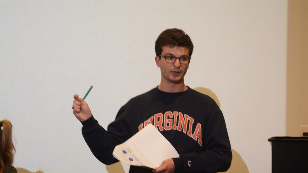 Michael Horth is a third-year Commerce Student and the chief financial officer for Student Council.