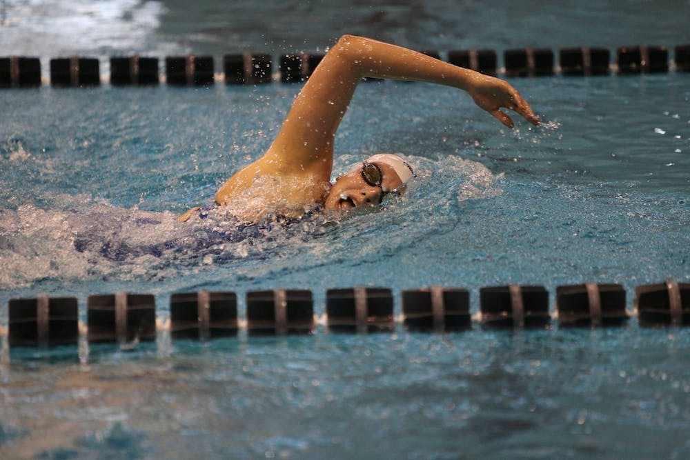 <p>The Cavaliers were the first-ever ACC team to win the NCAA women's swimming and diving championship.</p>