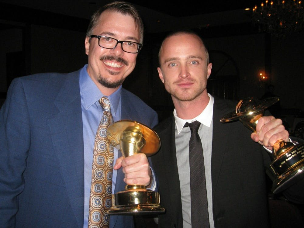 Writer and director Vince Gilligan and star Aaron Paul have worked together for over a decade.