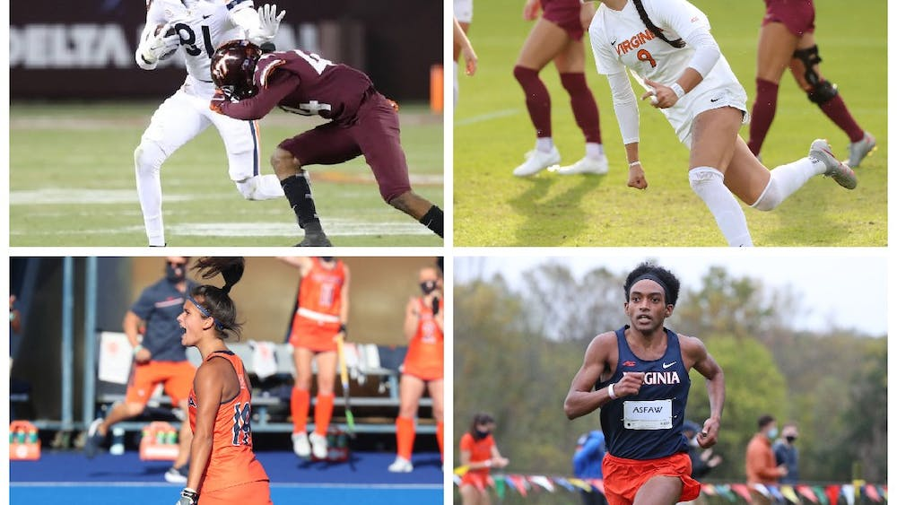 From thrilling games to standout players, the fall 2020 season was an interesting one for Virginia's teams.