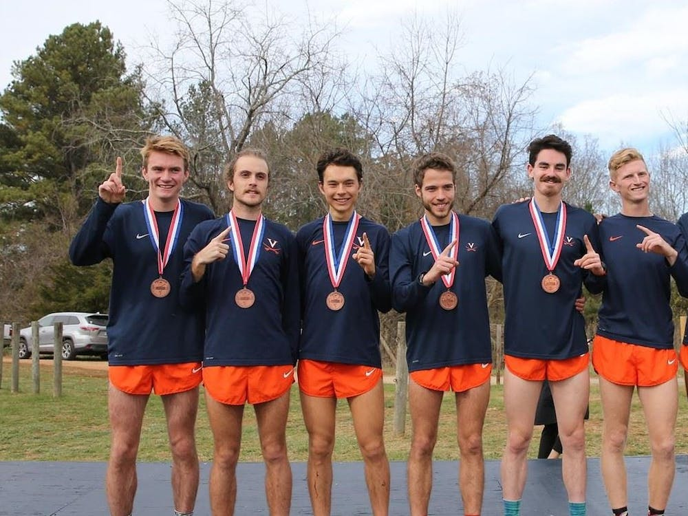 The top five for the Virginia men's cross country team finished within 16 seconds of each other.