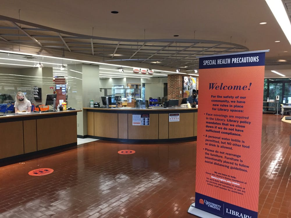 <p>25 percent of the occupants in Clemons Library yesterday were not wearing masks throughout the afternoon, despite the University's policy mandating all students to wear masks in indoor spaces.</p>