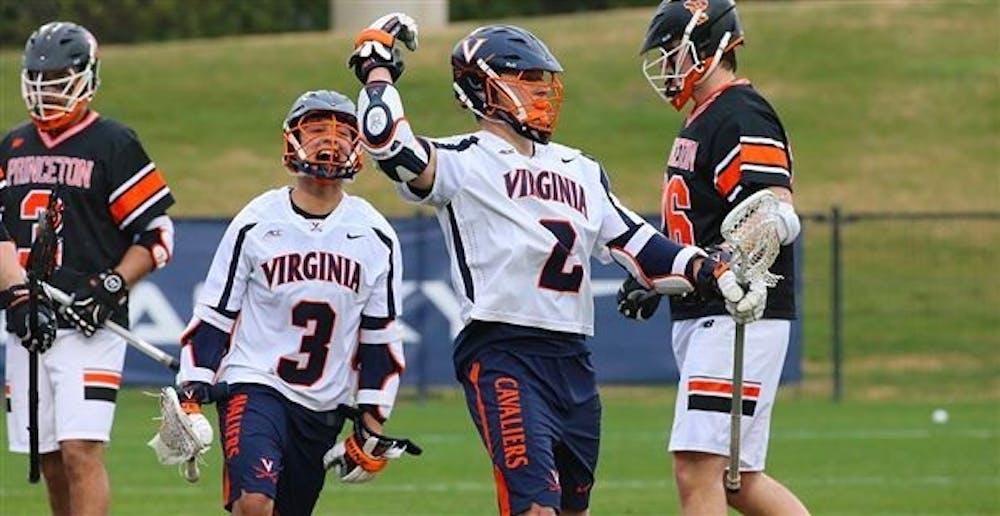 No. 12 men's lacrosse edges No. 19 Princeton in 12-11 ...