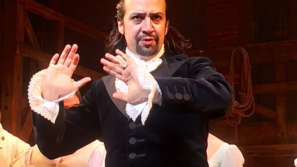'Hamilton' creator Lin-Manuel Miranda also plays the titular role in the filmed performance.