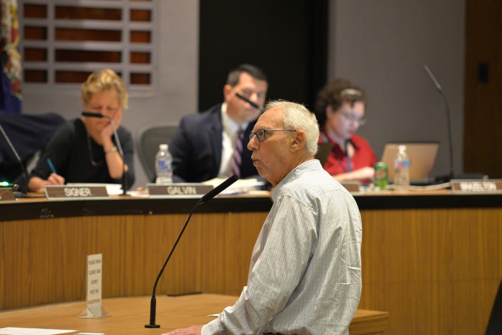 <p>Local civil rights attorney Jeff Fogel, who has pushed the Charlottesville Police Department to release greater detail about its stop and frisk data for years, spoke at the Monday City Council meeting.&nbsp;</p>