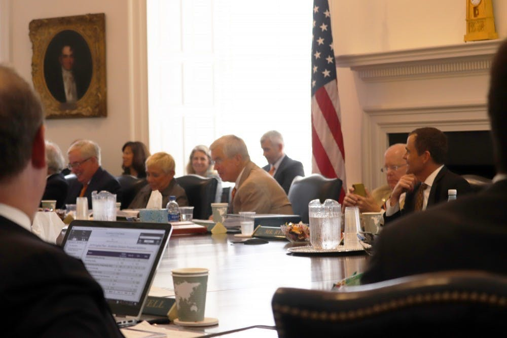<p>Considering the vast array of issues the Board votes on, it is unclear why the student and faculty members' opinions are not considered beyond a mere advisory role.&nbsp;</p>