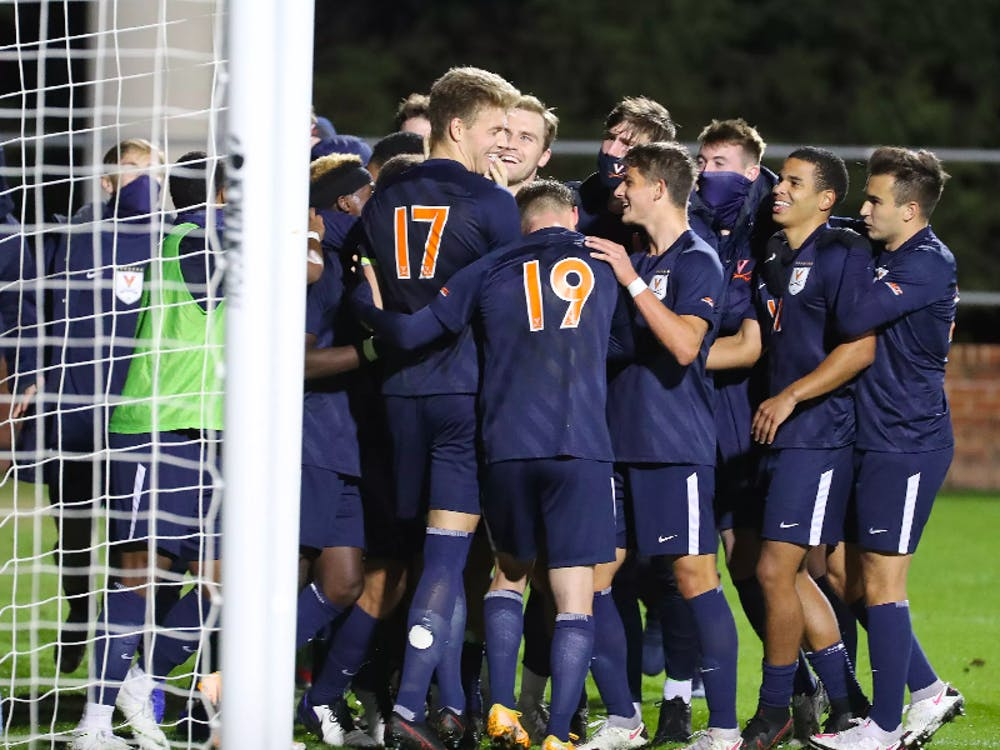 Virginia celebrated its first shutout after sophomore defender Andreas Ueland buried a penalty kick in the 71st minute.