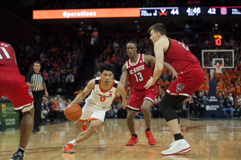 <p>Kihei Clark and the Cavaliers were ready for the postseason, fresh off of 11 wins in their last 12 games.</p>