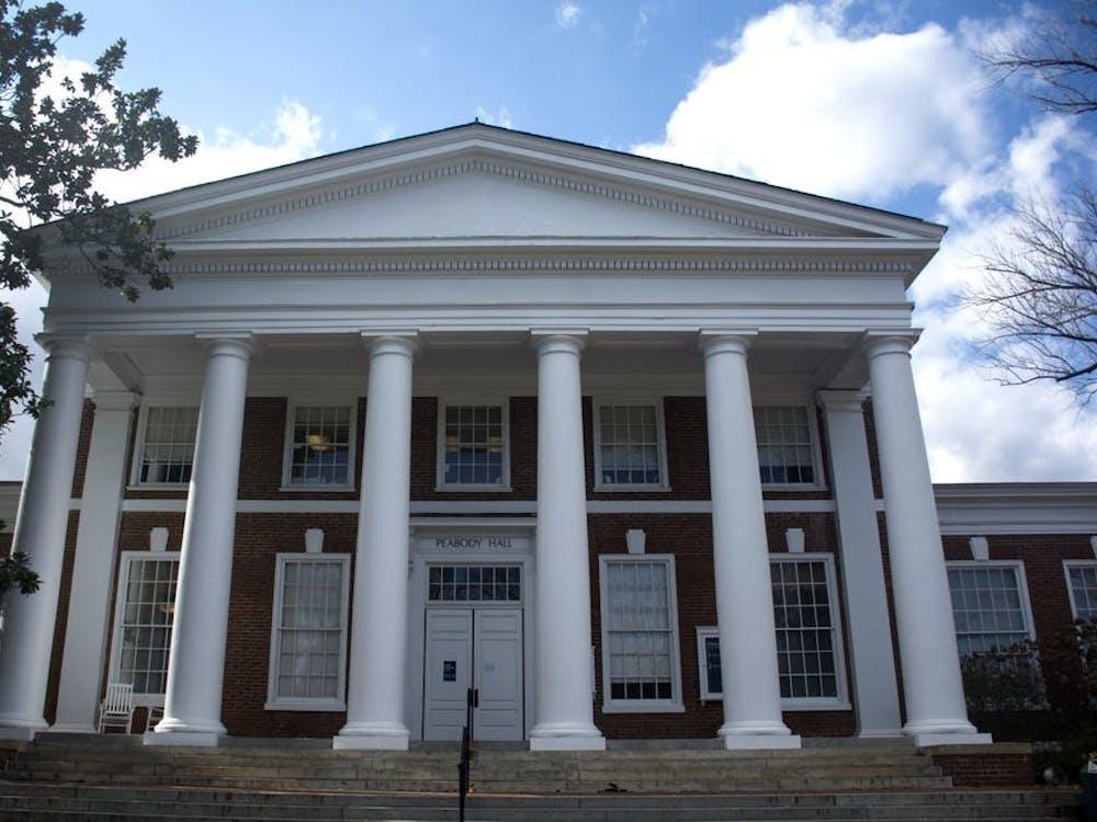 弗大本科招生办公室位于Peabody Hall