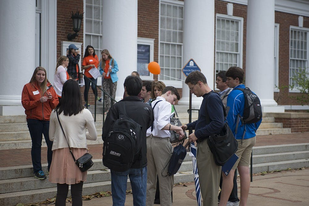 <p>The schedule for a typical day includes a morning welcome address, opportunities to learn about and interact with different school and upper divisional school programs, a parents panel, student social, walking tours of Grounds and residence halls, a resource fair, arts reception and an active learning classroom visit.</p>