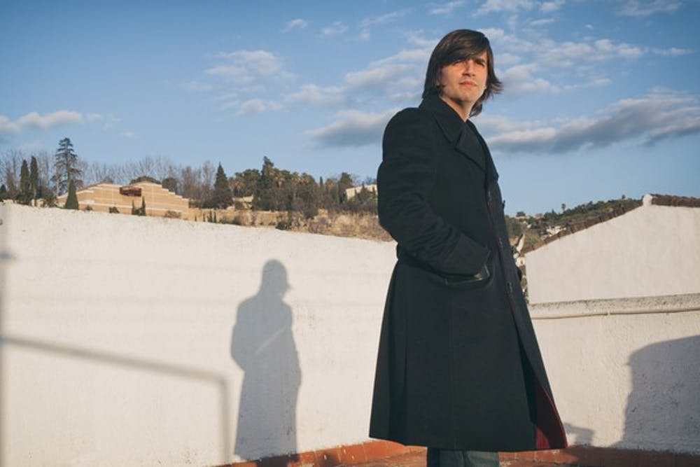 Valverde at a photoshoot in his birthplace, Granada