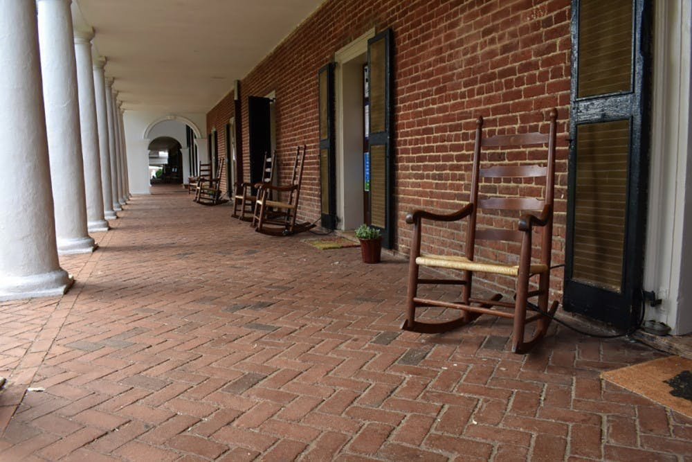 """<p>The revision comes after signs posted on Lawn room doors last fall containing profanity such as """"F—ck UVA,"""" as well as criticism of the University's history of enslavement and inaccessibility, prompted calls for removal by some alumni and community members.&nbsp;</p>"""