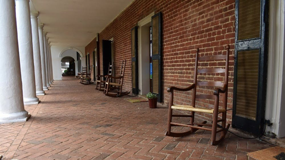 """The revision comes after signs posted on Lawn room doors last fall containing profanity such as """"F—ck UVA,"""" as well as criticism of the University's history of enslavement and inaccessibility, prompted calls for removal by some alumni and community members."""