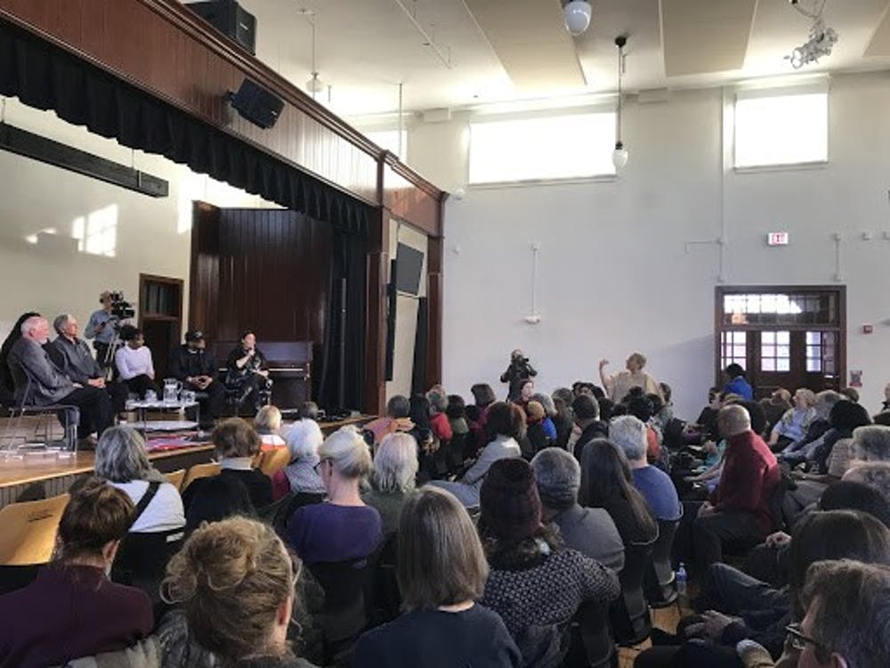 <p>&nbsp;<br> An audience member challenged the panel with accusations that African American women from Charlottesville were not sufficiently represented.&nbsp;</p>