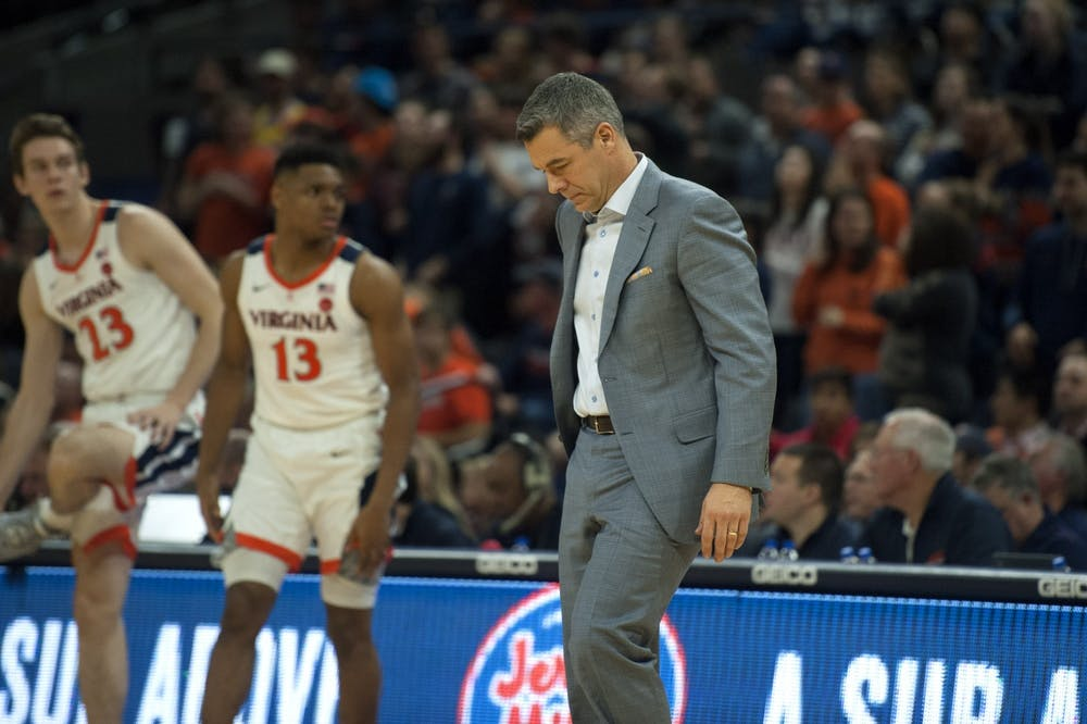 <p>With the pause in team activities, the Cavaliers' heavyweight clash against No. 9 Villanova in the Holiday Hoops Classic is potentially in jeopardy.</p>