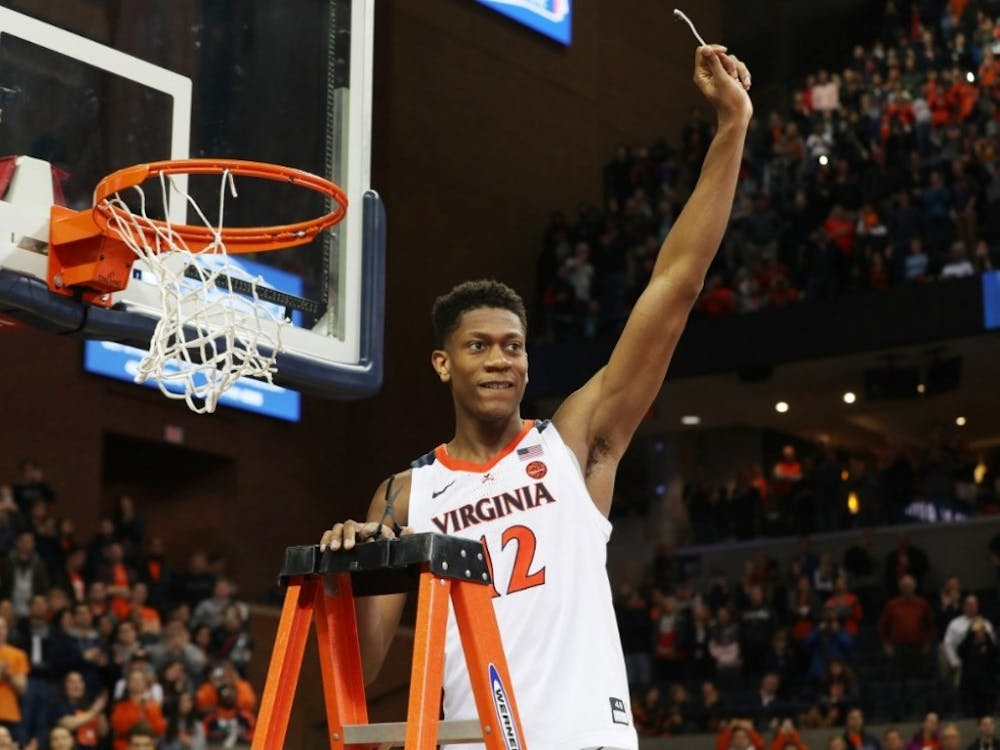 Sophomore forward De'Andre Hunter will be key in helping the Cavaliers cut down the nets in March.