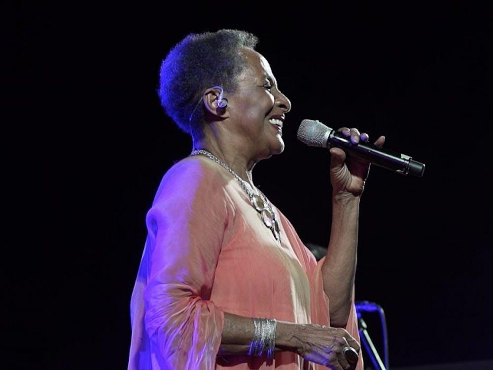 Baca during a July 2017 performance at La Quinta de El Pardo.