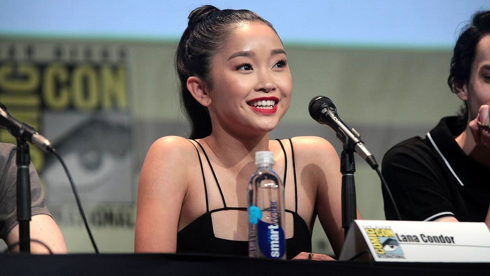 """To All the Boys"" star Lana Condor pictured at San Diego Comic Con in 2015 for her role in ""X-Men: Apocalypse."""