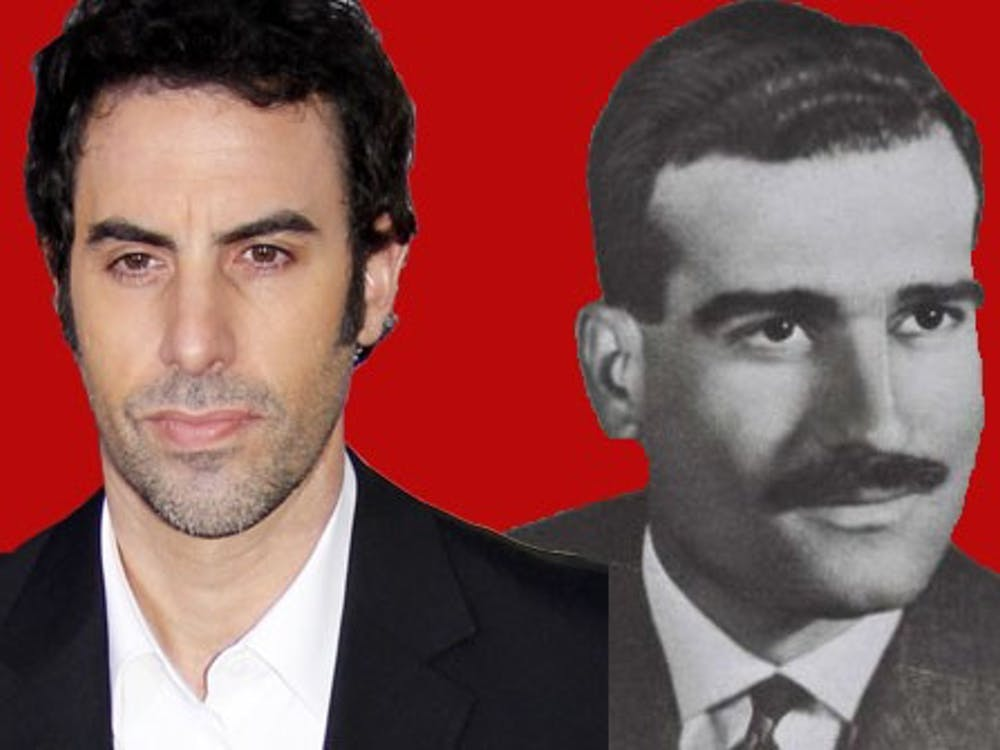 Sacha Baron Cohen takes a more serious turn as Eli Cohen, a true-life Israeli spy.