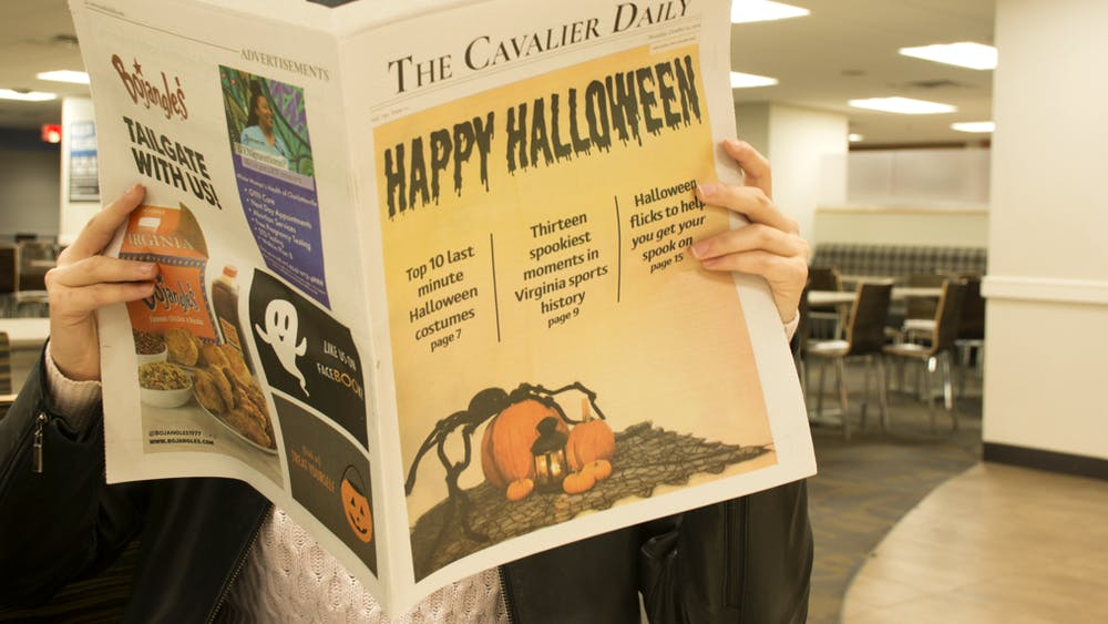 """We can all agree that we feel guilty for forgetting The Cavalier Daily's anniversary, and we all silently agree that we should get them something, even if it's last-minute."""