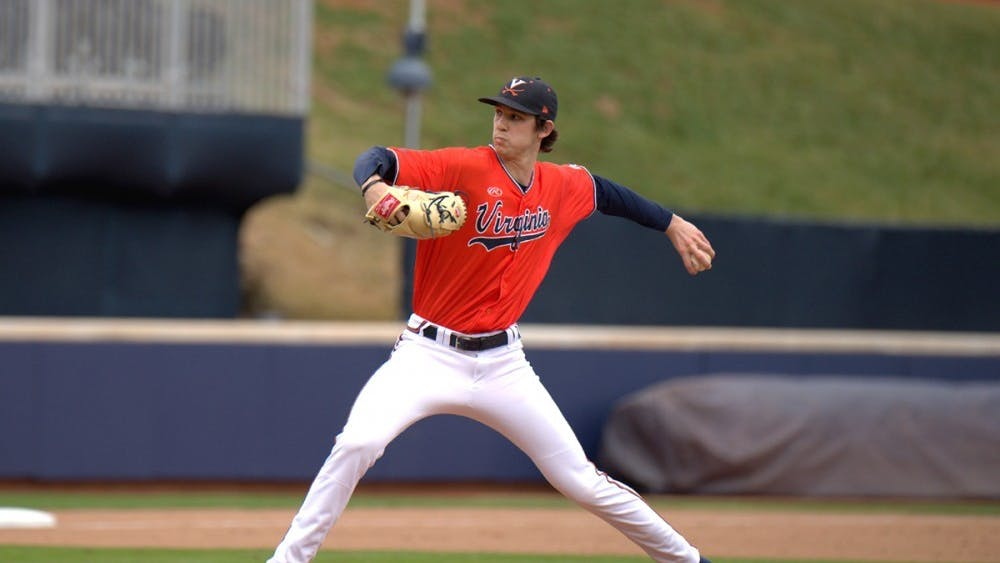 Junior left-handed pitcher Daniel Lynch started the game on the mound Saturday for Virginia and struck out a career-high 12 batters in seven and one-third innings.