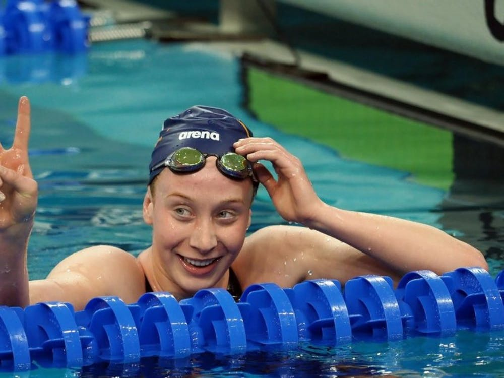 Sophomore Paige Madden finished second in the 500-yard freestyle at the NCAA Championships.