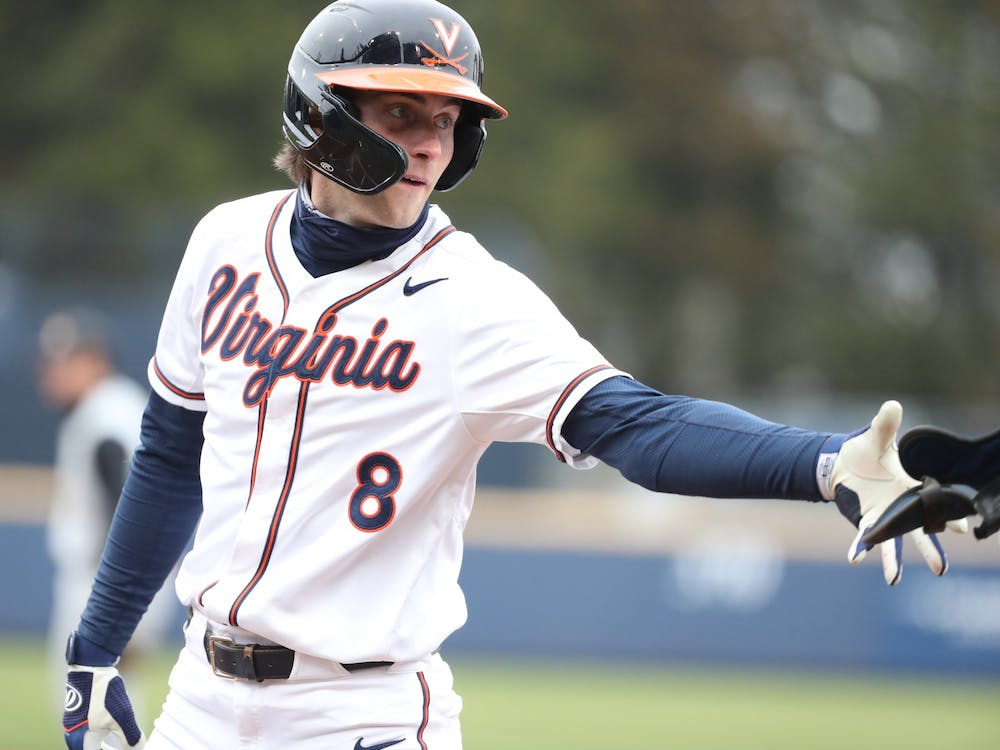 Senior outfielder Brendan Rivoli led Virginia in its offensive efforts throughout the midweek tilt.