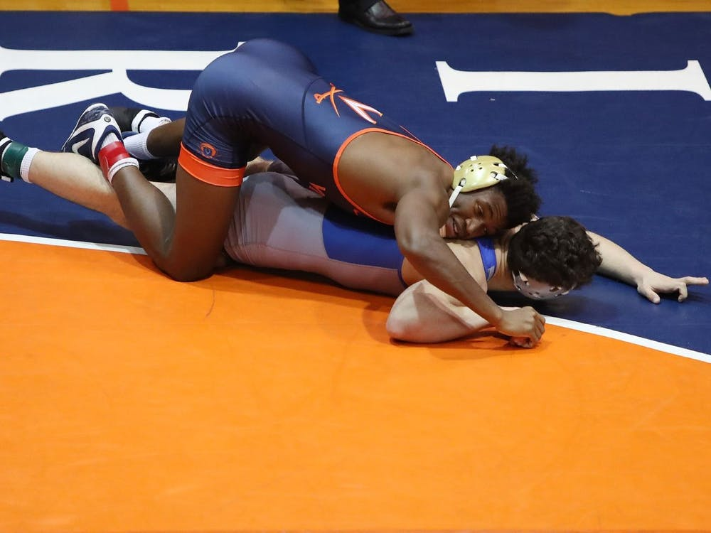 The wrestling team's 17-16 nail-biter over Pittsburgh was its first win against a ranked opponent since a 23-16 victory over then-No. 16 Arizona State in January 2019.