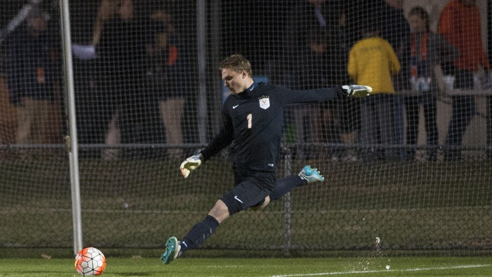 Sophomore goalkeeper Jeff Caldwell posted a clean sheet agains the fifth-ranked Tar Heels.