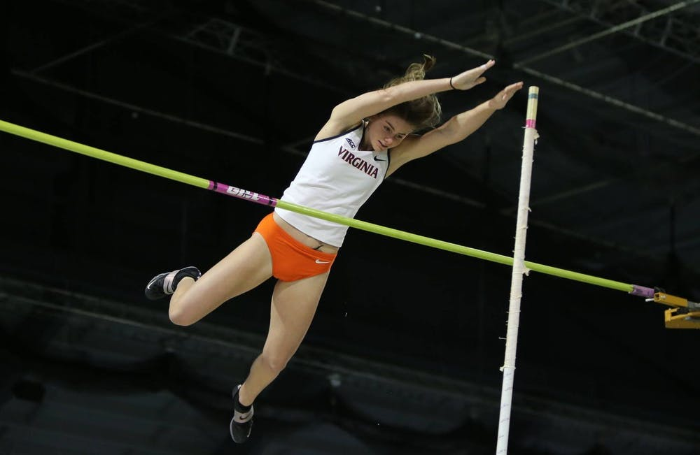 <p>Sophomore Maya Maloney placed 10th in the pole vault, hitting a mark of 3.74 meters.&nbsp;</p>