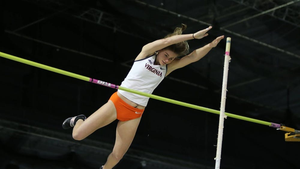 Sophomore Maya Maloney placed 10th in the pole vault, hitting a mark of 3.74 meters.
