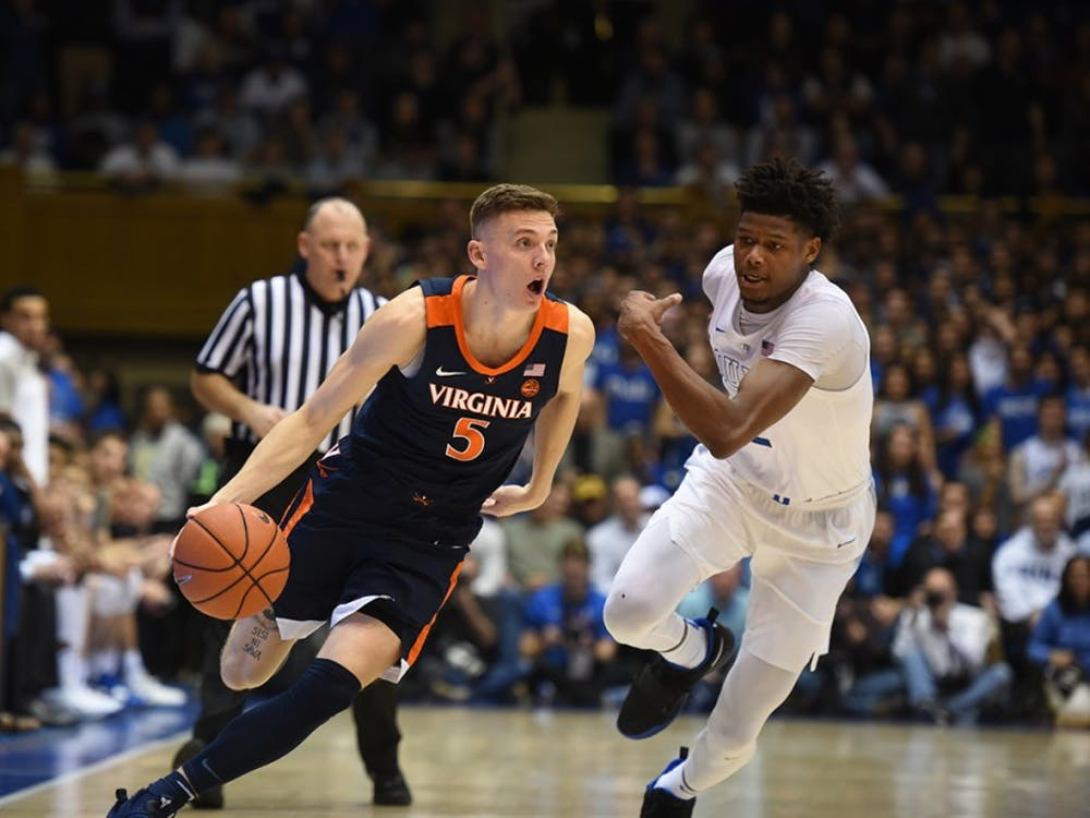 Junior guard Kyle Guy hit back-to-back threes late in the game to seal the deal for Virginia.