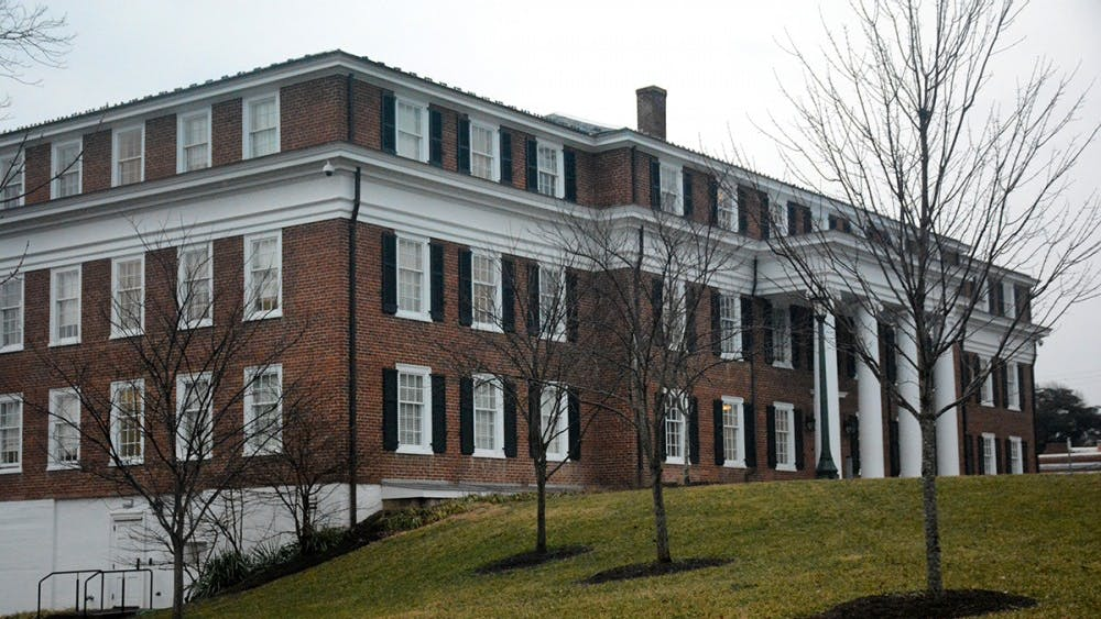 While the main office location for the EOCR is in Hotel B on the East Range, survivors often have to make make the walk down Rugby Road to the Title IX Office in O'Neil Hall.