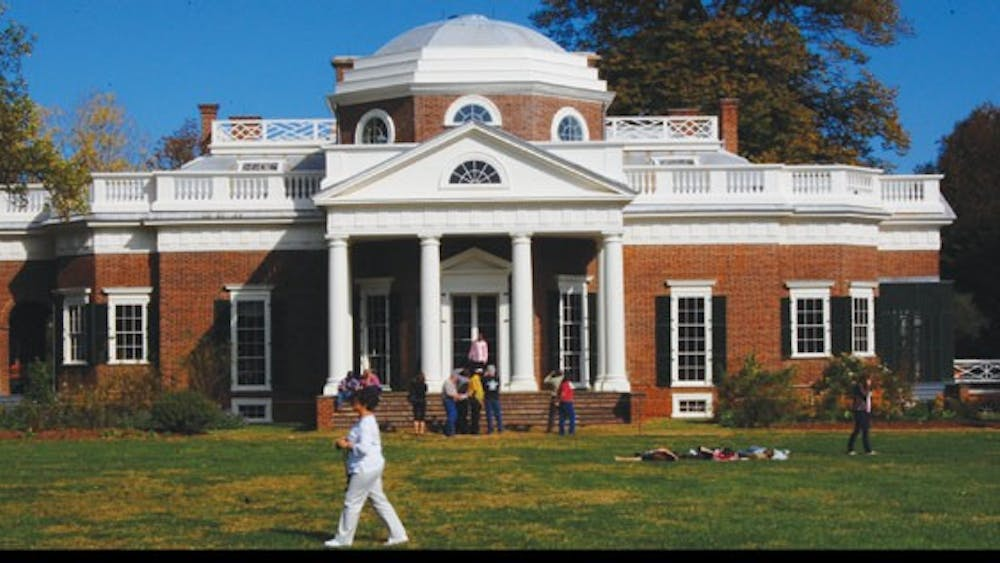 Monticello is among the historical features taken into account by College Ranker as a retention factor for graduates.Photo by Will Brumas