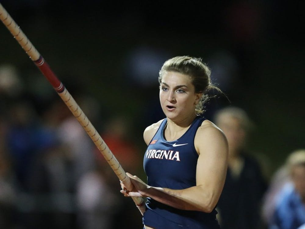 Junior Bridget Guy set the facility, meet, and school record with a mark of 4.46m in the pole vault.