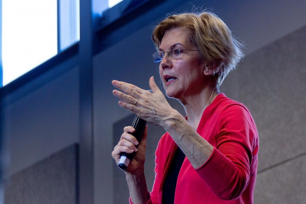<p>After four years of Trump, voters may be looking for an alternative anti-establishment candidate to fight against the inequalities that exist in this nation — Warren is that option.</p>