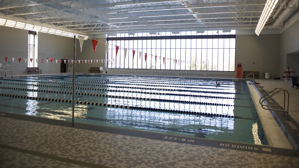 Marcantonio claims he and other first-year members were hazed by five former University swim team members.
