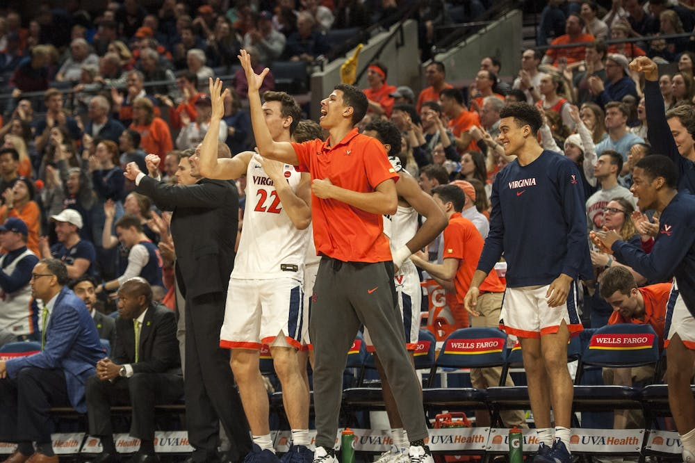 <p>Kadin Shedrick has many mentors as a redshirt freshman on the men's basketball team.</p>