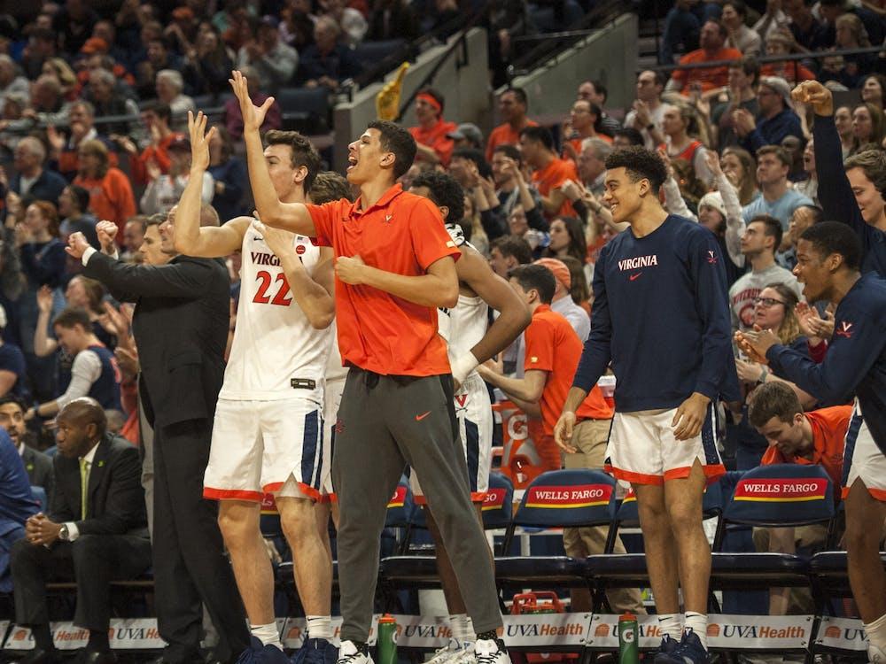 Kadin Shedrick has many mentors as a redshirt freshman on the men's basketball team.