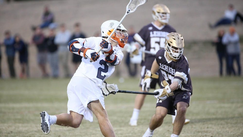 Junior attacker Michael Kraus scored four goals last Friday for Virginia men's lacrosse against Lehigh.