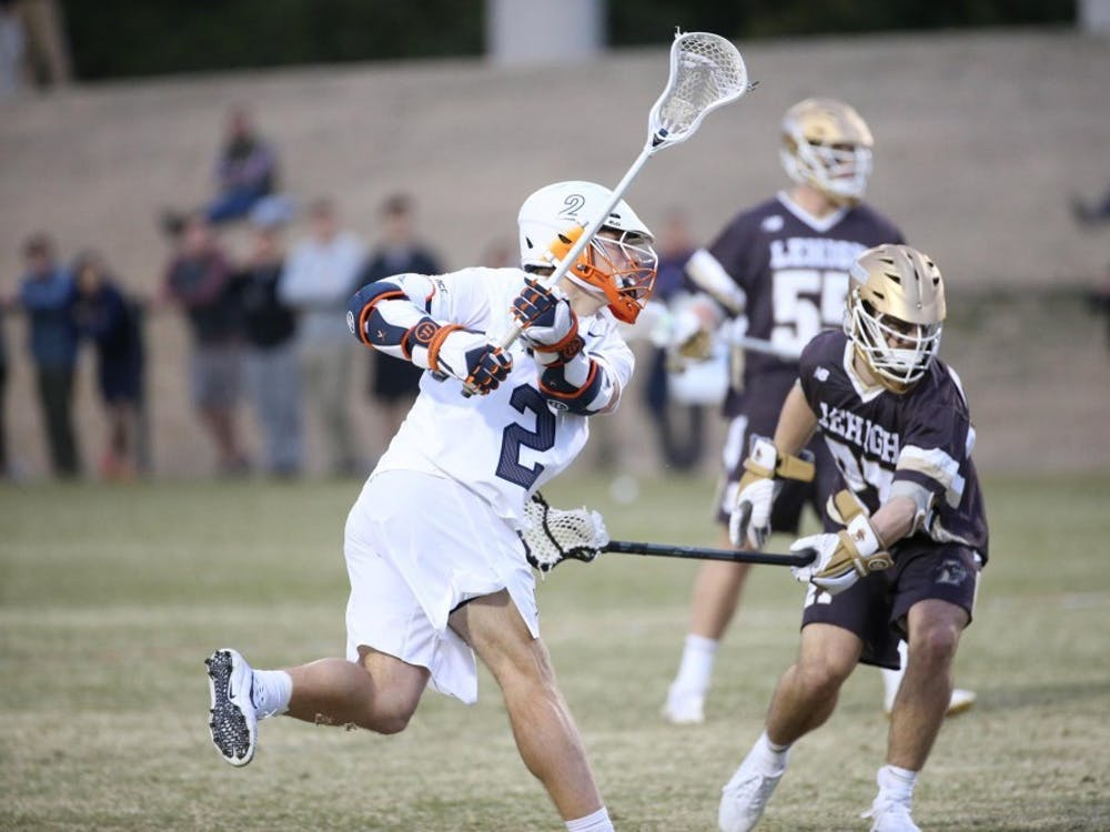Junior attacker Michael Kraus scored four goals last Friday for Virginia men's lacrosse against Lehigh.